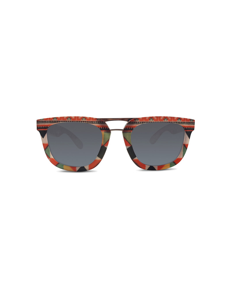 Hanoi Ceramic Mosaic Design Sunglasses | Tracy Dizon, RiseAD Textiles and Prints, RiseAD