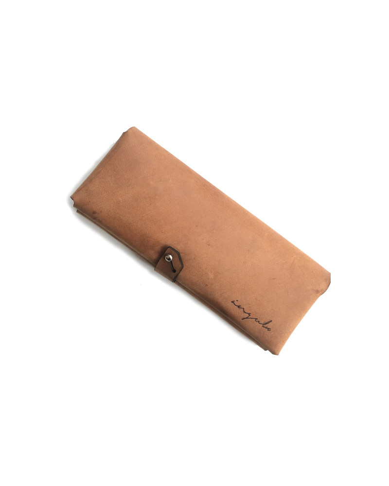 [ milano ] Leather Wallet [ Brown ], Ángulo, Ángulo