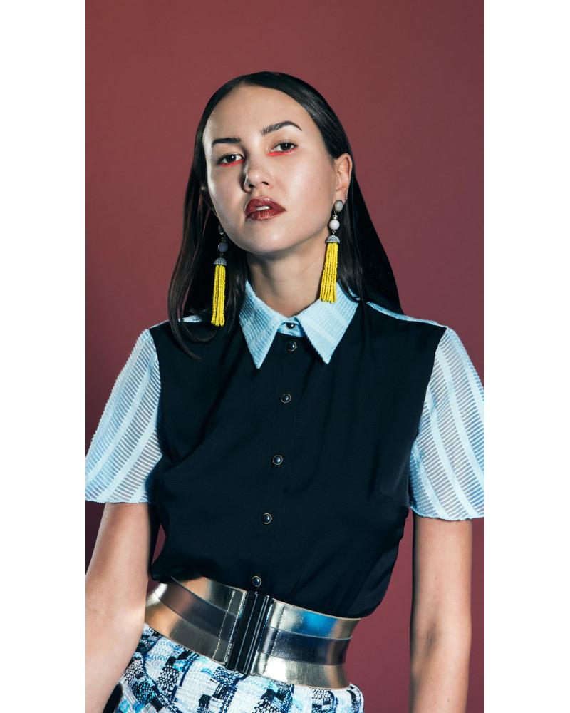 Breeze Button-Up Shirt, Garden Party (Pt.1), Leetal Platt