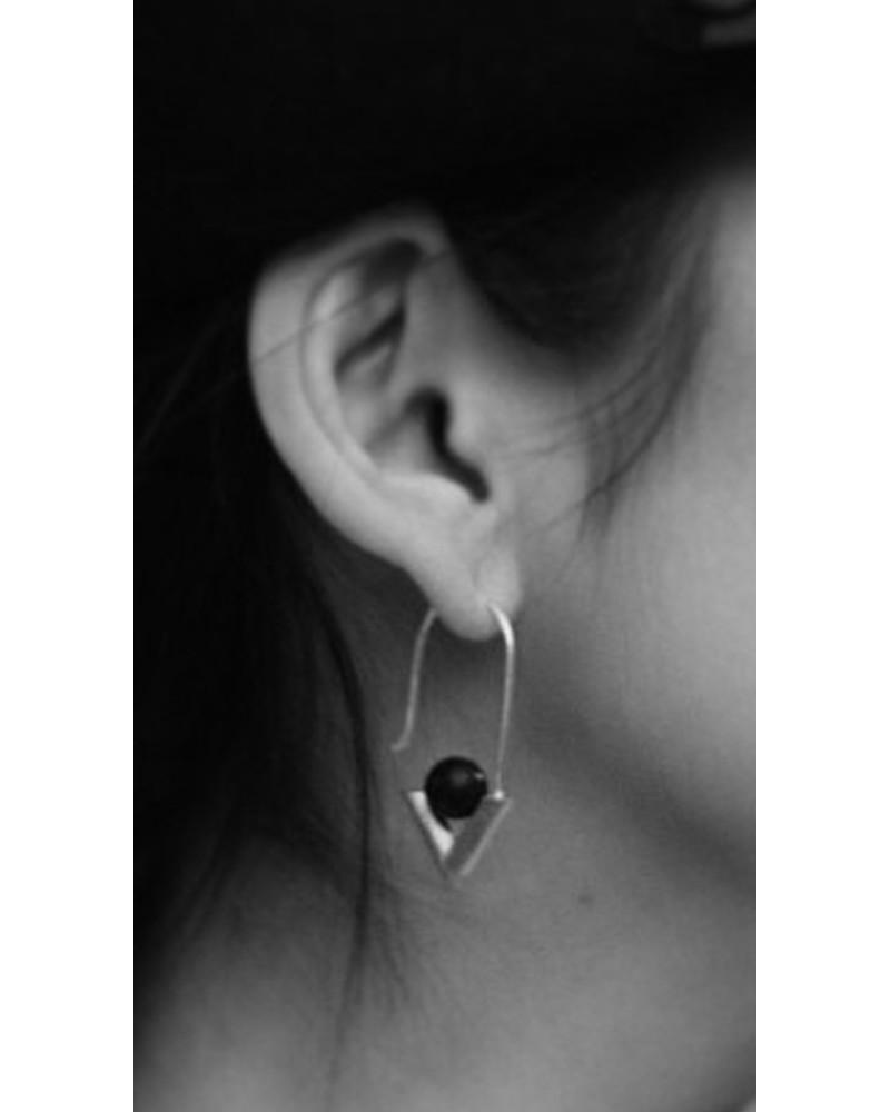 RM16 • A Earrings, L I N E A, René Moreta
