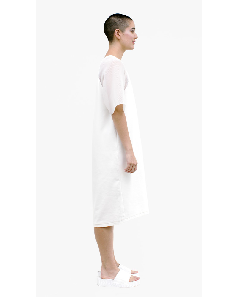 Walter Dress in White, Parallel of Latitude, Allergic