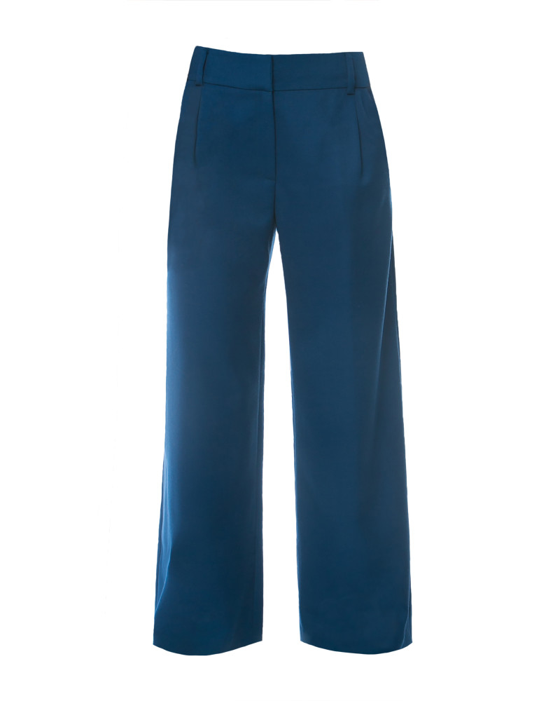 Marlene Wide Leg Pant, Blue is the City, Aline Voldoire