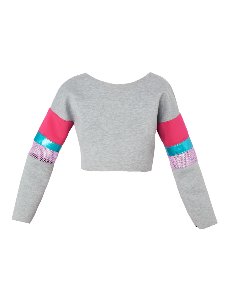 Brewster Sweatshirt, Wild Child, Meghan Hughes