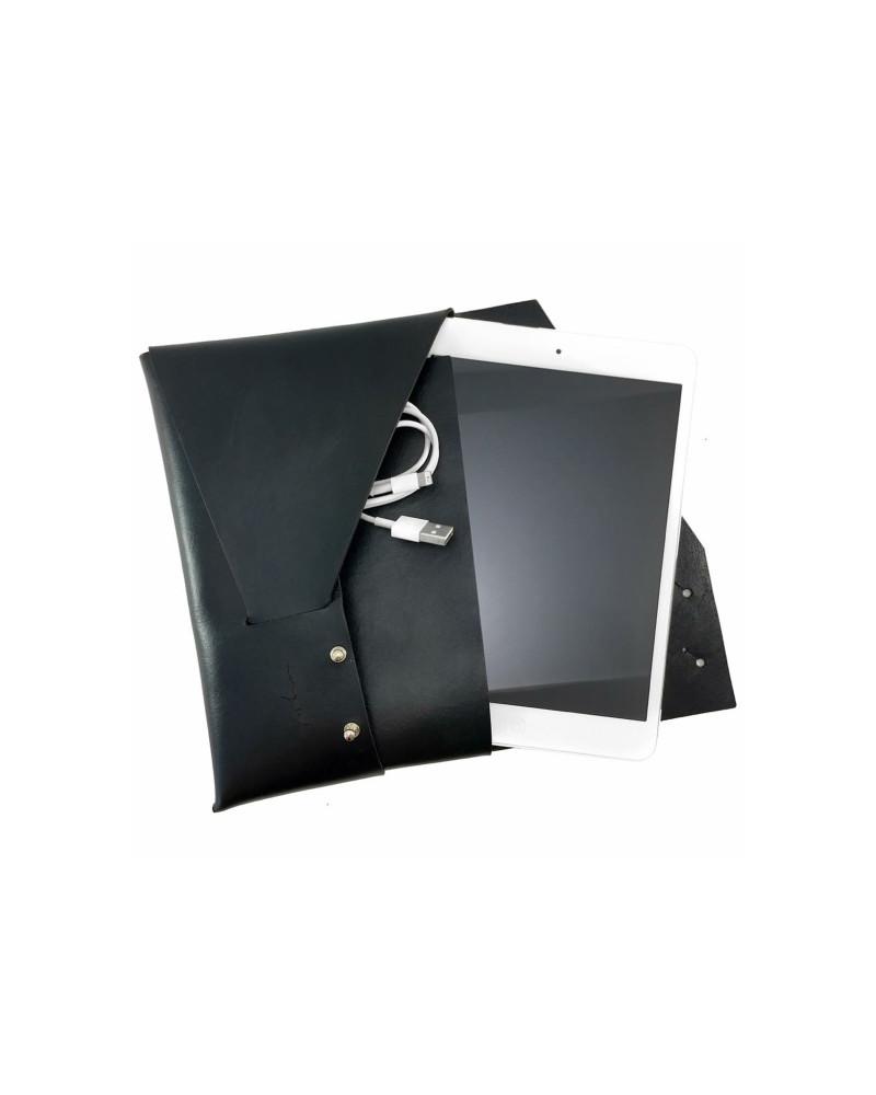 [ mitre ] Leather iPad Case [ Black ], Ángulo, Ángulo