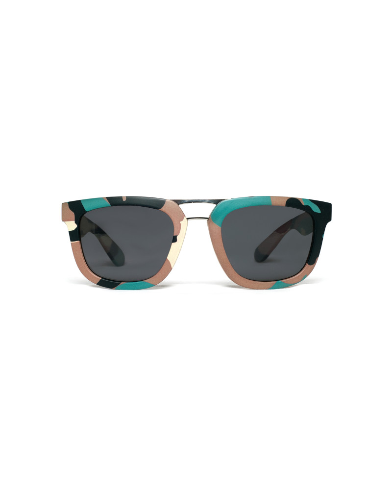 Green Camo Sunglasses | RAD Aviator, RiseAD Textiles and Prints, RiseAD