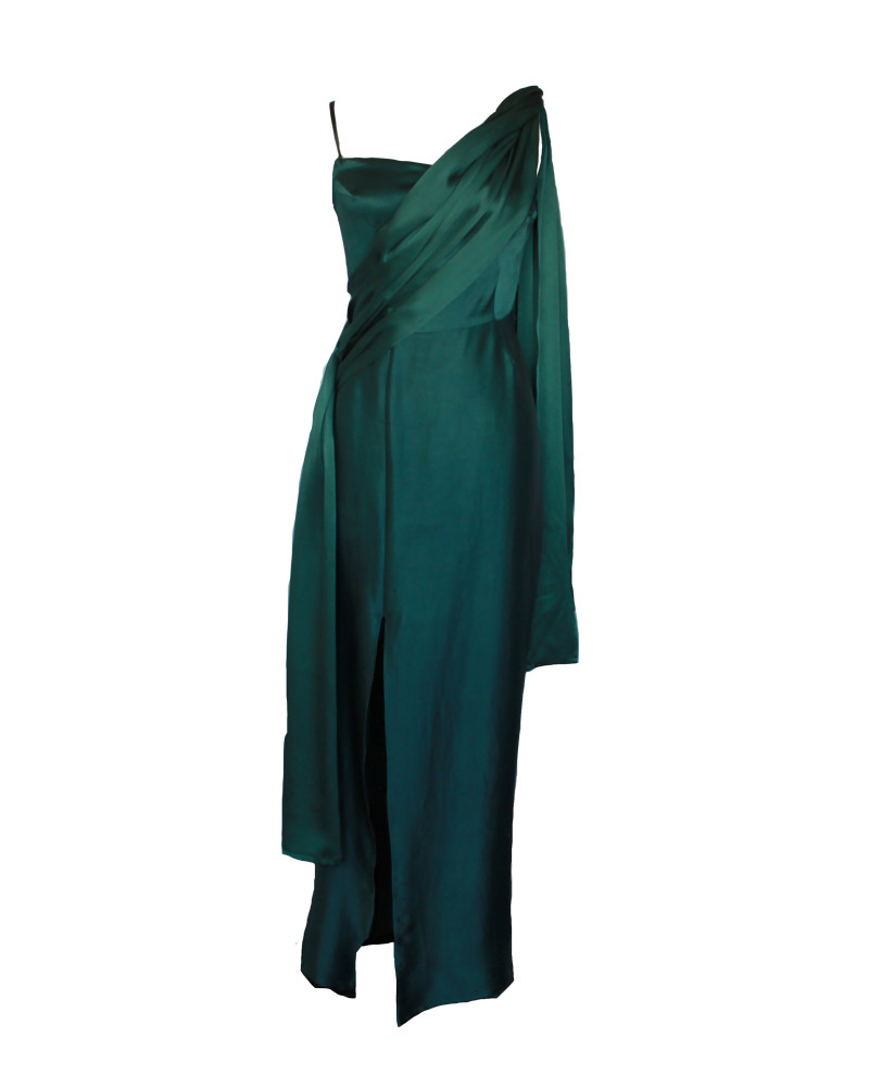 Cleo Silk Gown, FOR YOU, FERRAH