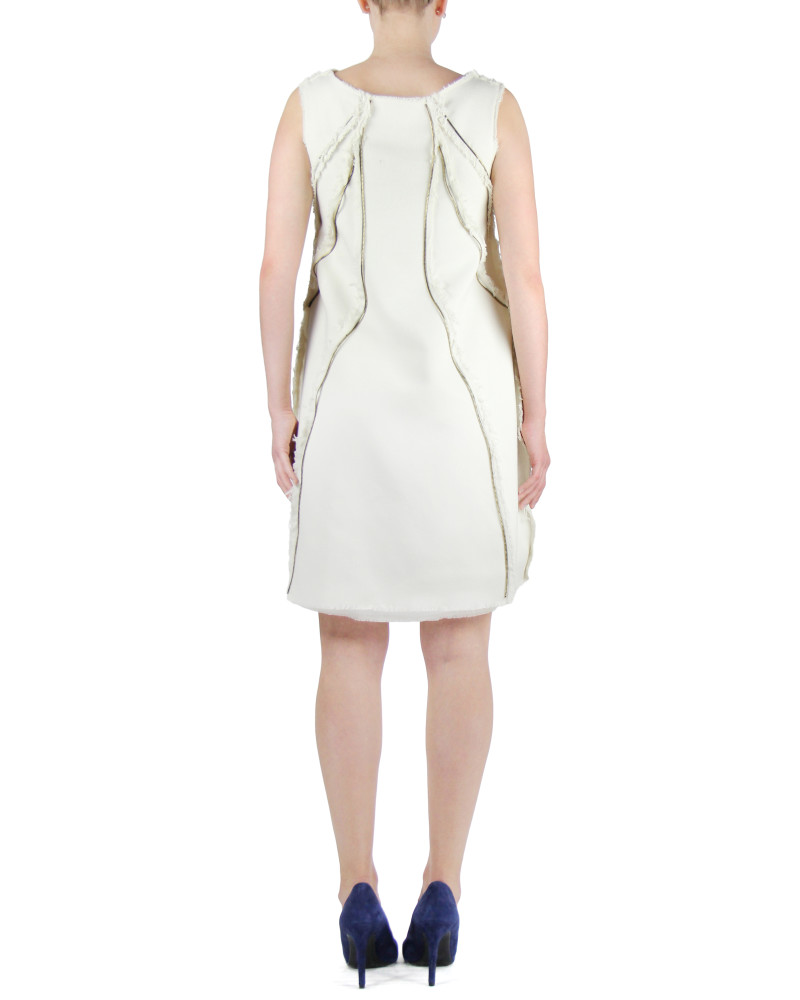 Zipper Panel Dress, Modern Baroque, Chanho Jang