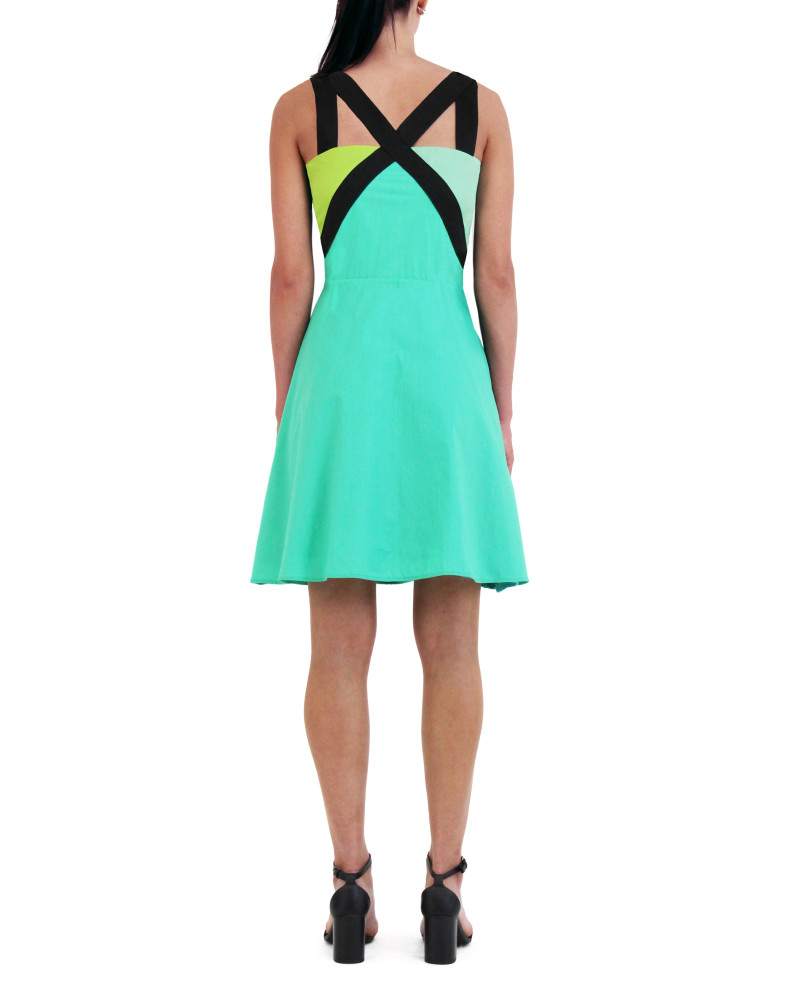 Green Triangle Dress, Spring/Summer 2015, Meghan Hughes