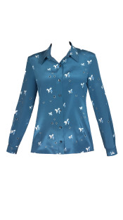 Nineteenth Amendment, Aline Voldoire, Blue is the City, Pegasus Blouse, SHIRT