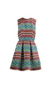 Nineteenth Amendment, Jovan OConnor, Girl From Ipanema, Pleated Power Dress, DRESS
