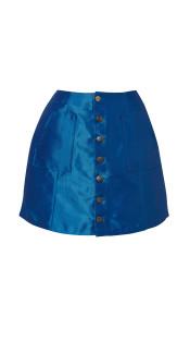 Nineteenth Amendment, Meghan Hughes, Wild Child, Denim Mini Skirt, SKIRT