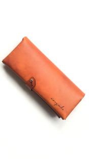 Nineteenth Amendment, Ángulo, Ángulo, [ milano ] Leather Wallet [ Orange ], Accessories