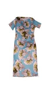 Nineteenth Amendment, Kaer, Flowerpower 2017, White Blossom Cowl Dress, DRESS