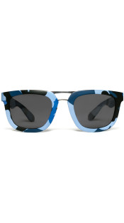 Nineteenth Amendment, RiseAD, RiseAD Textiles and Prints, Blue Camo Sunglasses | RAD Aviator, Accessories