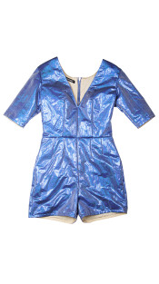 Nineteenth Amendment, Meghan Hughes, Starstruck, Metallic Romper, JUMPSUIT