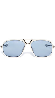 Nineteenth Amendment, RiseAD, RiseAD Game Changers, Game Changer Squared Sunglasses | Matte White, Accessories