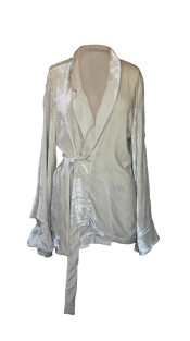 Nineteenth Amendment, FERRAH, FOR YOU, Frida Silk-Velvet Jacket, OUTERWEAR