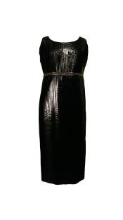 Nineteenth Amendment, Chanho Jang, Modern baroque RTW Part 2, Black Column Dress, DRESS