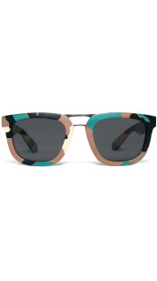 Nineteenth Amendment, RiseAD, RiseAD Textiles and Prints, Green Camo Sunglasses | RAD Aviator, Accessories