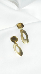 Nineteenth Amendment, Dos Pinceles, Curva Collection, Circular Earrings, Jewelry