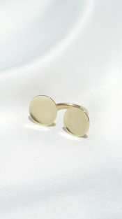 Nineteenth Amendment, Dos Pinceles, Curva Collection, Circular Ring, Jewelry