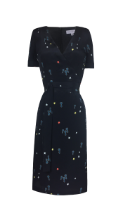 Nineteenth Amendment, Aline Voldoire, Overture, Ava Print Dress, DRESS