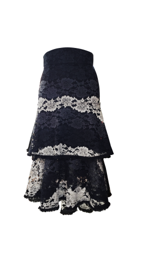 Nineteenth Amendment, , Romantique, Romantic Lace Skirt, SKIRT