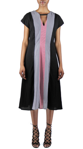 Nineteenth Amendment, , Spellbound, Tri-Color Dress, DRESS
