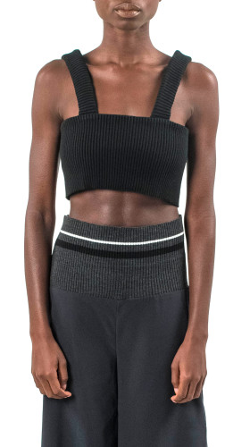Nineteenth Amendment, , Contemporary Matter Ss/17, Crescent Crop Top, TOP