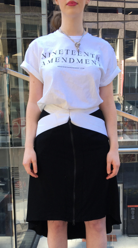 19th Amendment Person T-Shirt, BOSS BABE , Amanda Curtis Designs