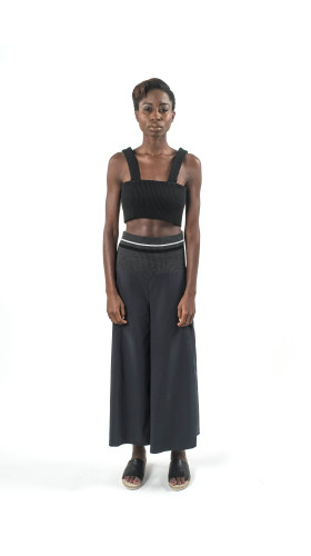 Nineteenth Amendment, Bohn Jsell Collections, Contemporary Matter SS/17, Crescent Crop Top, TOP