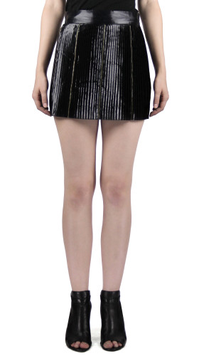 Nineteenth Amendment, Chanho Jang, Modern Baroque RTW Part 1, Pleated Mini Skirt, SKIRT