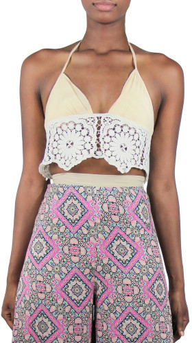 Crochet bracelet top, Bollywood Babydoll , Ollari