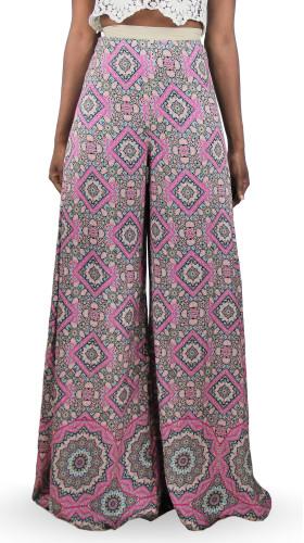 Printed 70's bell pant, Bollywood Babydoll , Ollari