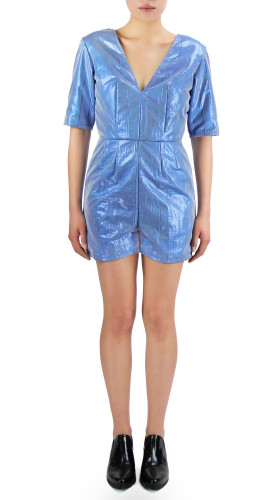 Nineteenth Amendment, Meghan Hughes, Starstruck, Metallic Romper, JUMPER