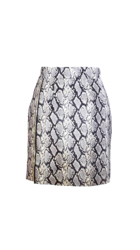 Nineteenth Amendment, , Second Skin Cubed Rtw, Snake Skin Skirt, SKIRT
