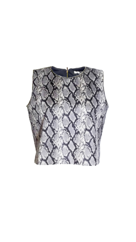 Nineteenth Amendment, , Second Skin Cubed Rtw, Snake Skin Top, TOP