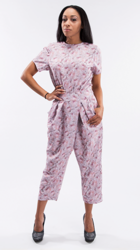 La Vie En Rose Jumpsuit, Diamond in the Rough , Kaer