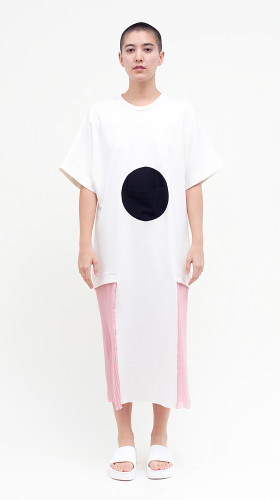 Albert Dress in White, Horizon , Allergic