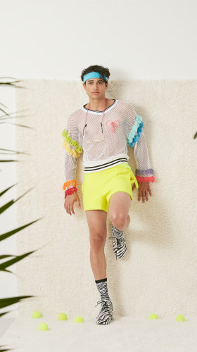Nineteenth Amendment, Adam Dalton Blake, S/S18: FIFTEEN, LOVE!, Tennis Wool Short Shorts, SHORTS