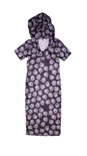 Nineteenth Amendment, Kaer, Everything's Coming Up Roses, Black Anemone Azealea dress, DRESS