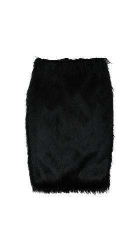 Nineteenth Amendment, HOT!COUTURE, Neo Victorian, Faux Fur Pencil Skirt, SKIRT