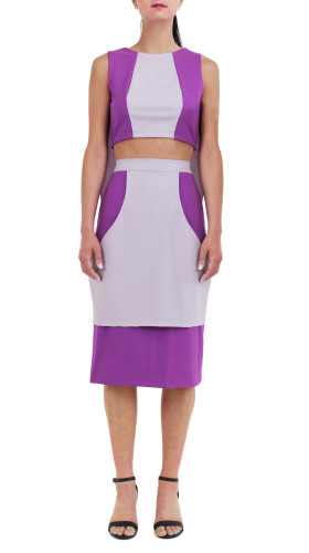 Nineteenth Amendment, Meghan Hughes, Spring/Summer 2015, Crop Cape Dress, DRESS