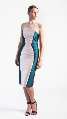Nineteenth Amendment, , Holiday Glow, Haven Strapless Cocktail Dress, DRESS
