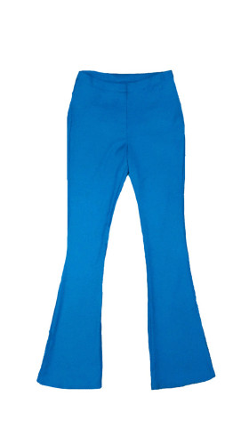 Nineteenth Amendment, VARYFORM, Glow, Phoebe Blue Flare Pant, PANTS