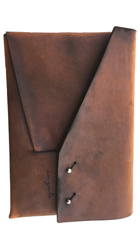 Nineteenth Amendment, , Ángulo, [ mitre ] Leather iPad Case [ Brown ], Accessories