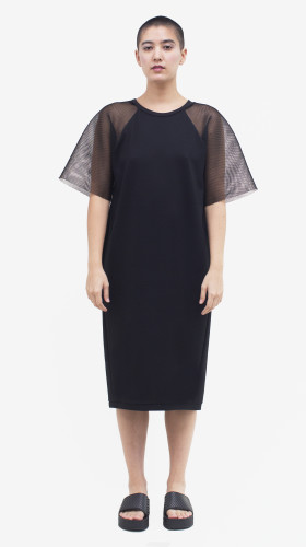 Walter Dress in Black, Parallel of Latitude , Allergic