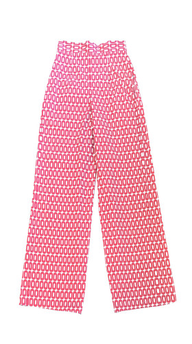 Nineteenth Amendment, , Love Divine, Kary Print High-Waisted Pant, PANTS