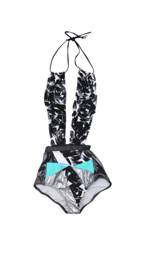 Nineteenth Amendment, , Holographic, Bella Swimsuit, SWIM