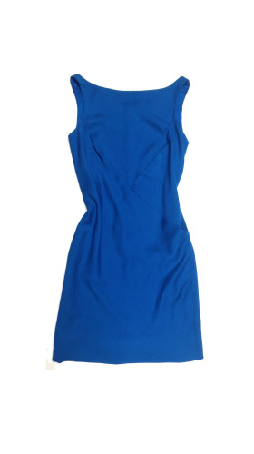 Nineteenth Amendment, VARYFORM, Glow, Halley Blue Y-Pleat Dress, DRESS